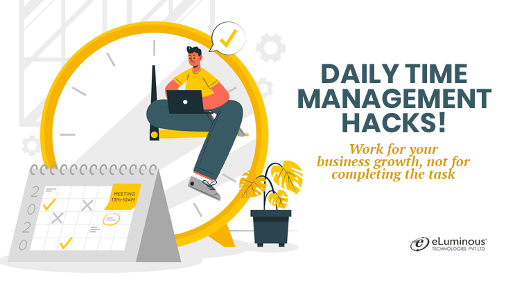 Daily time management hacks